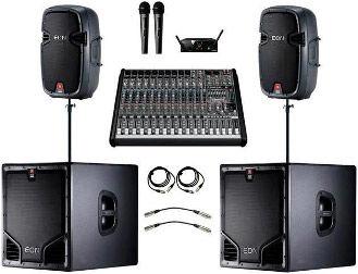 Мобильное звуковое оборудование