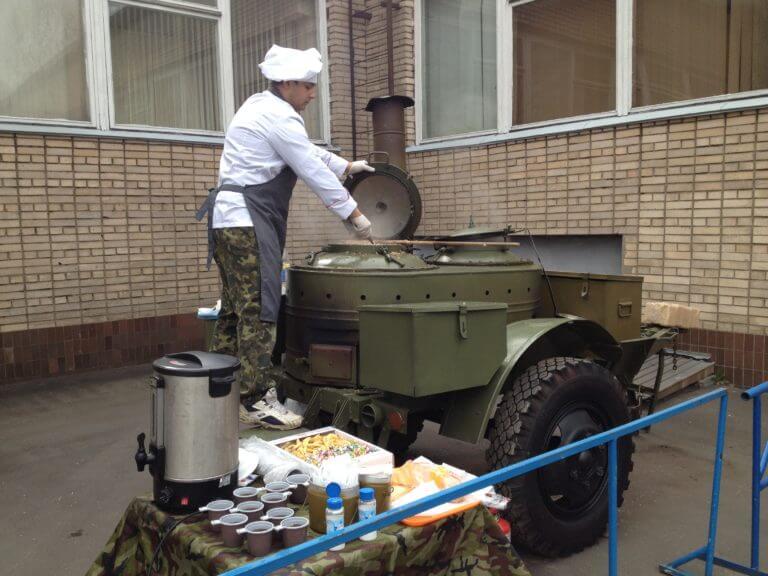 Полевая кухня кп-2-48