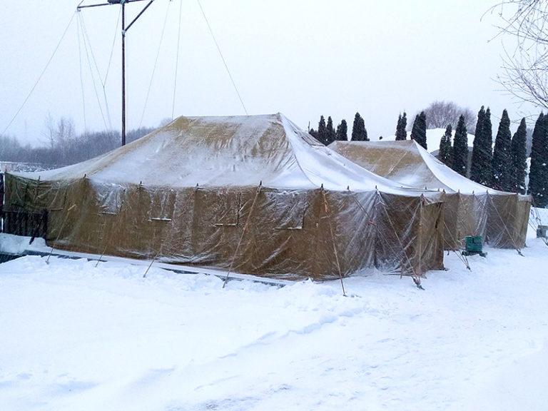 Аренда армейской палатки усб-56