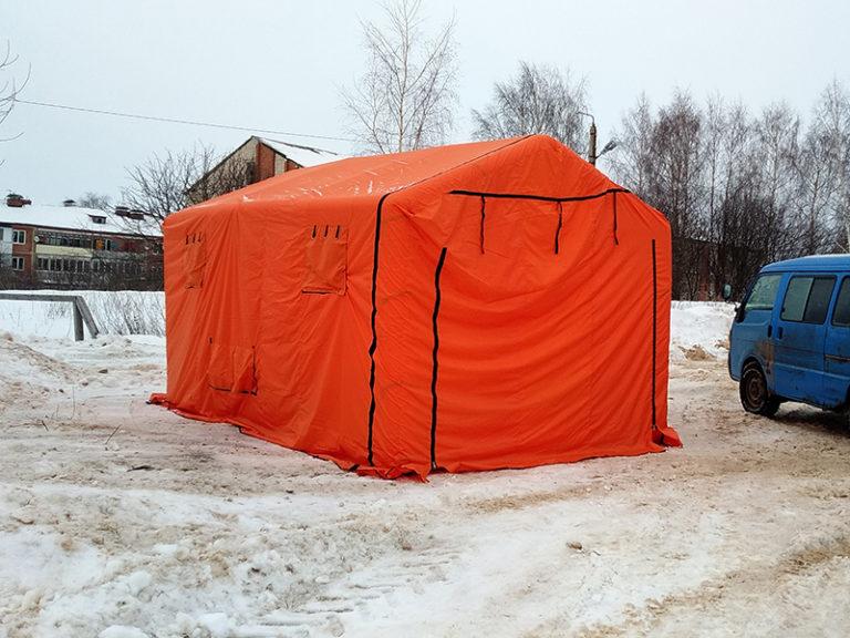 Аренда надувных палаток на мероприятие