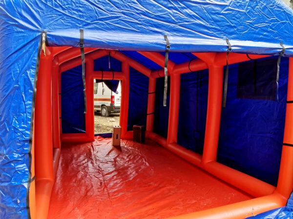 Аренда надувных палаток