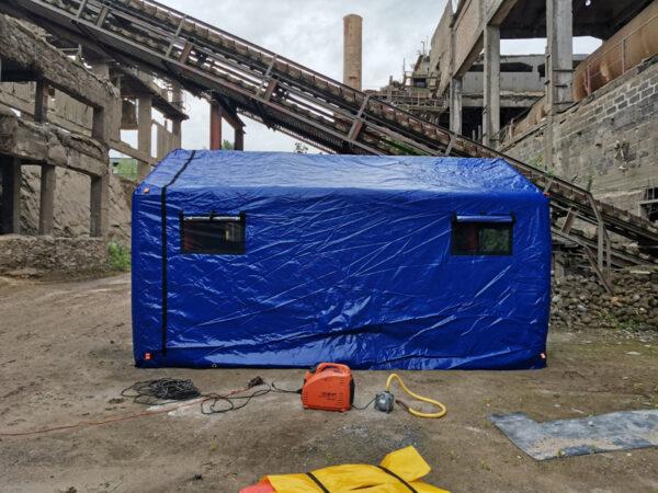 аренда надувной палатки