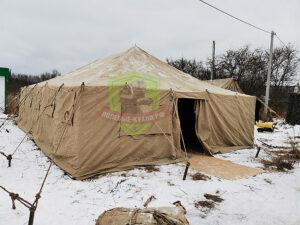 Палатки с обогревом