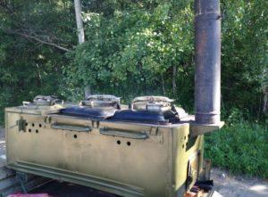 Аренда полевой кухни кп-75