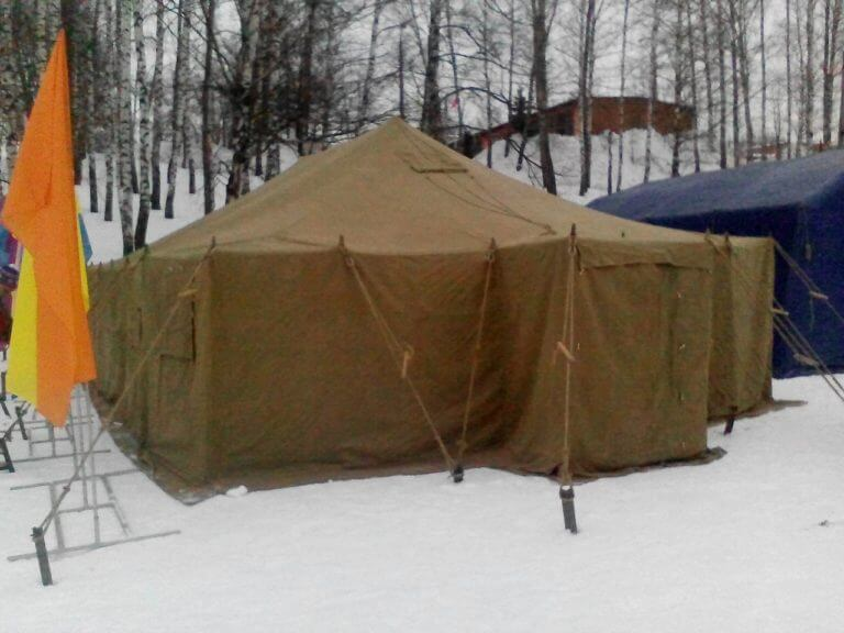Аренда палатки армейской