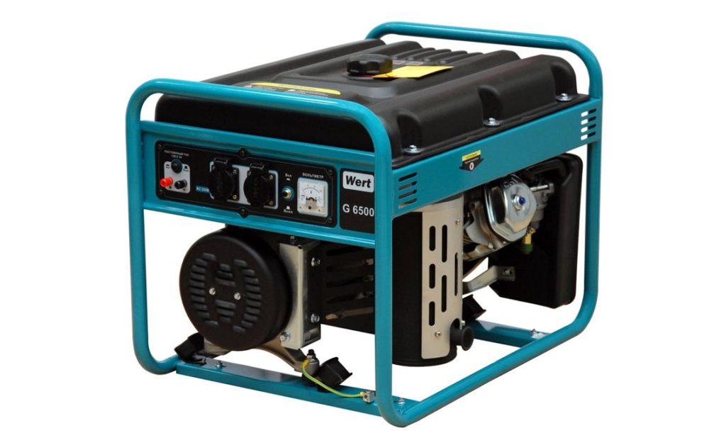 Аренда генератора Wert 6500
