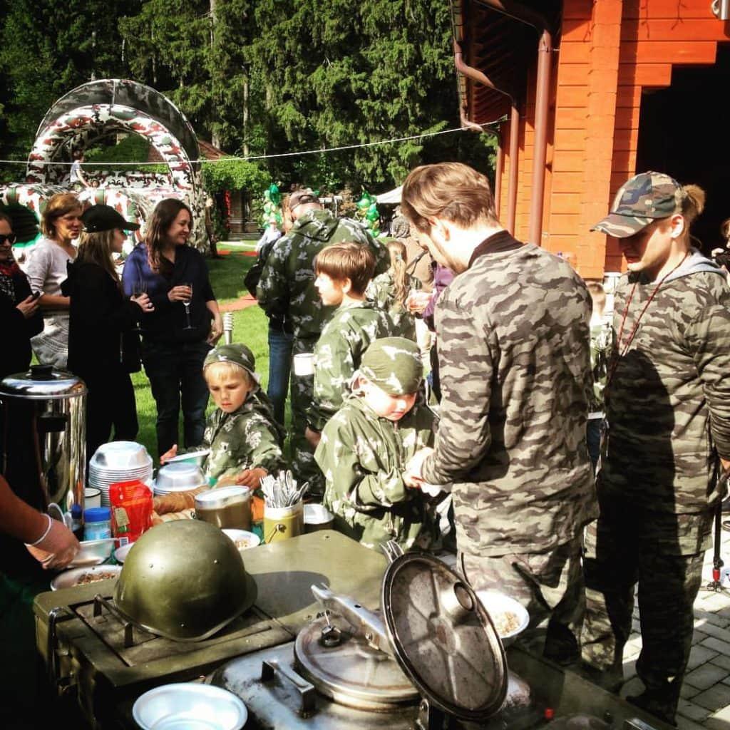 Полевая -кухня кп-75