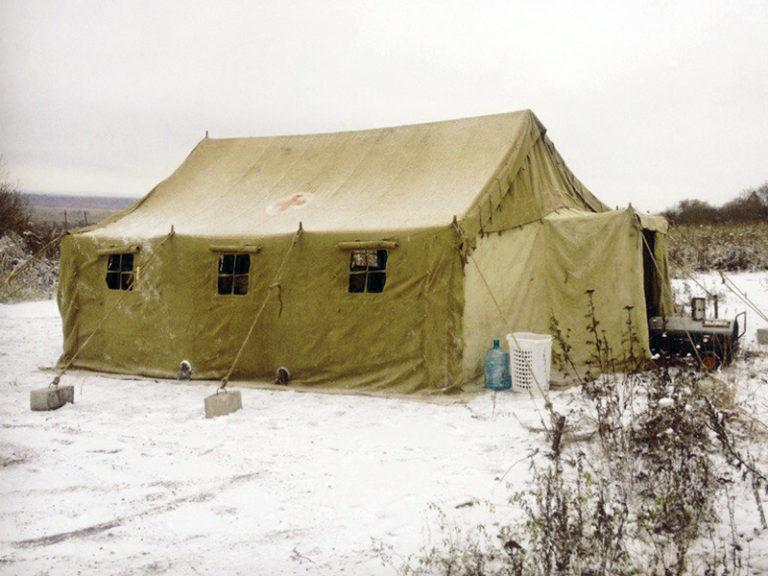 Аренда армейской палатки уз-68