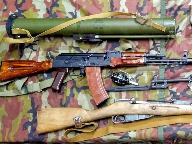 Выставка исторического оружия на мероприятие