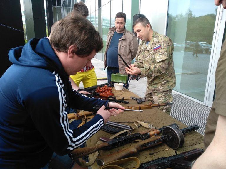 Выставка исторического оружия
